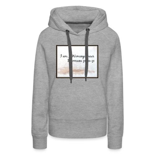 I am a Womenpreneur Design - Women's Premium Hoodie