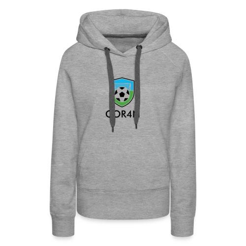 Football/Soccer Design - Women's Premium Hoodie