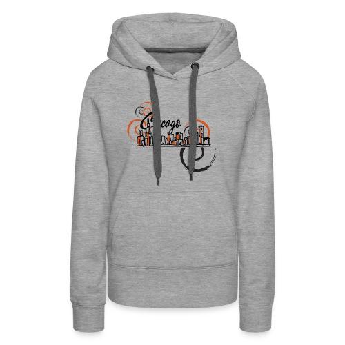 Chicago_Logo - Women's Premium Hoodie