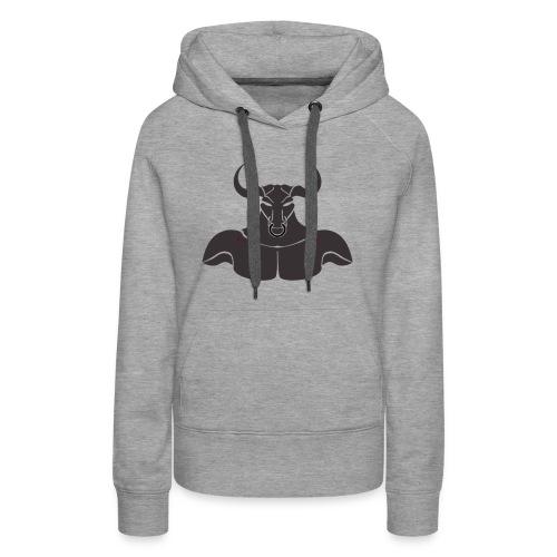 Grey Minotaur - Women's Premium Hoodie