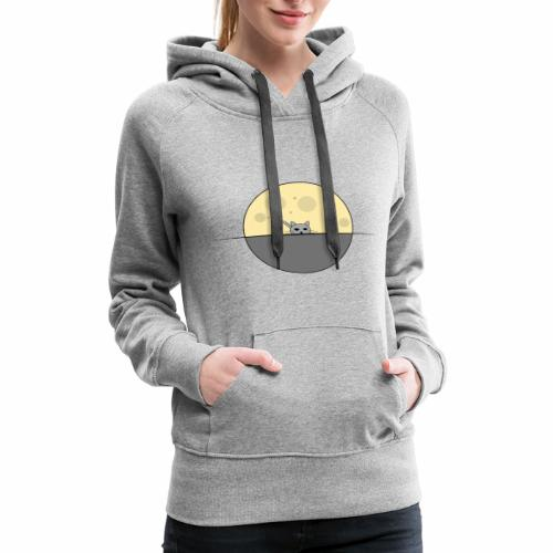 moon cat - Women's Premium Hoodie