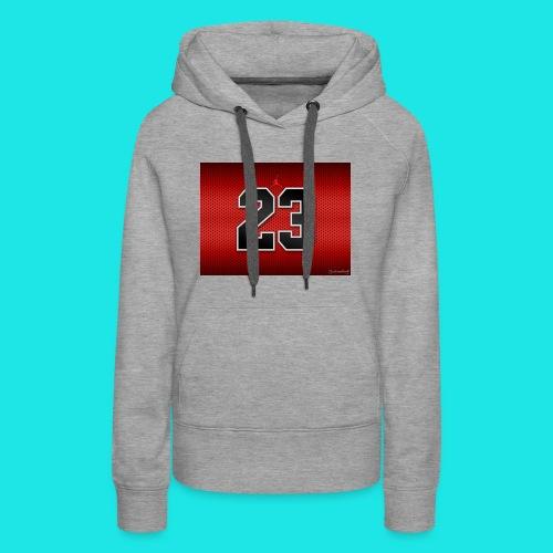 Jordan_Bulls_Jersey - Women's Premium Hoodie