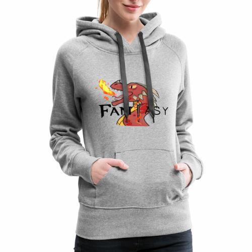 Dragon Fantasy Shirt! - Women's Premium Hoodie