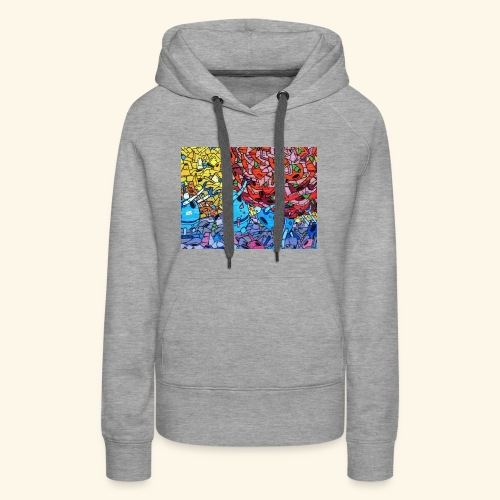 Graffiti Decal - Women's Premium Hoodie