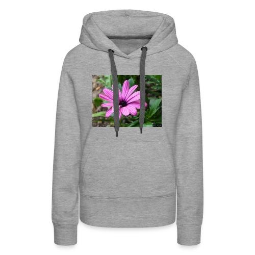 Beautiful Purple Flower - Women's Premium Hoodie