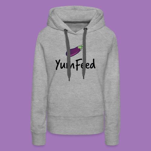 YumFeed logo - Women's Premium Hoodie