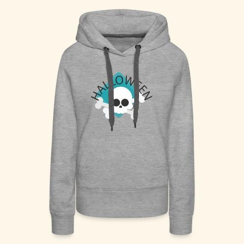 Halloween Skull2 - Women's Premium Hoodie