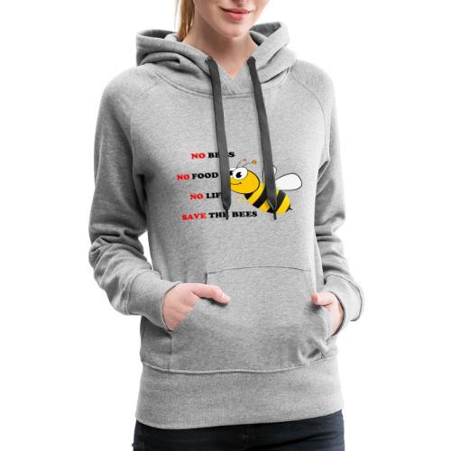 save the bees - Women's Premium Hoodie