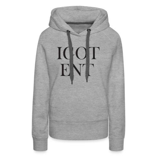 IGOTBaskervillFont - Women's Premium Hoodie