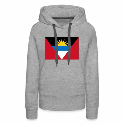 Flag of Antigua and Barbuda - Women's Premium Hoodie