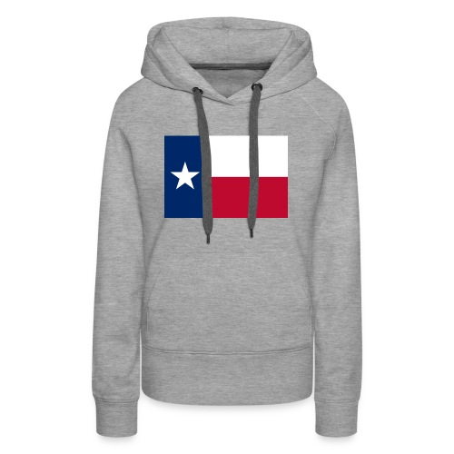 2000px Flag of Texas svg - Women's Premium Hoodie
