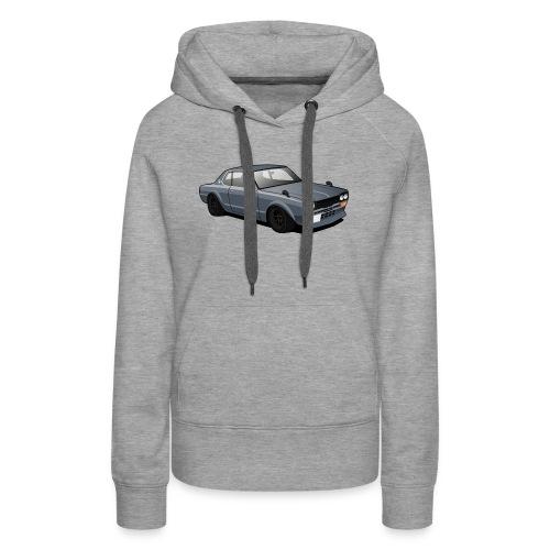 Retro Car - Women's Premium Hoodie