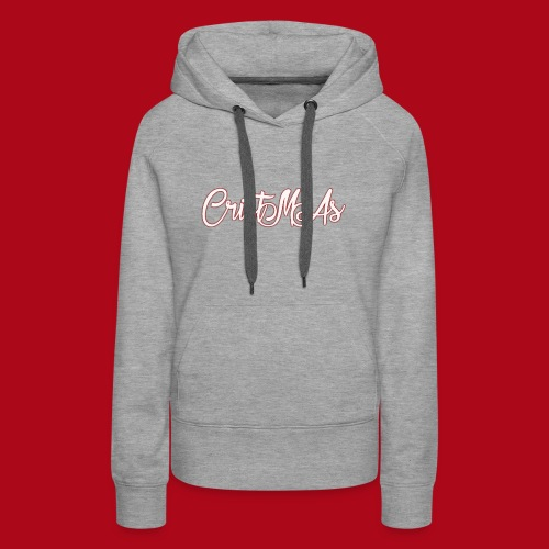 Christmas TEXT - Women's Premium Hoodie