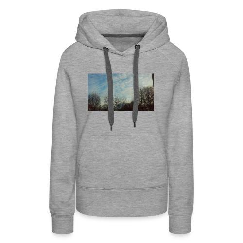 jersery winter sky - Women's Premium Hoodie