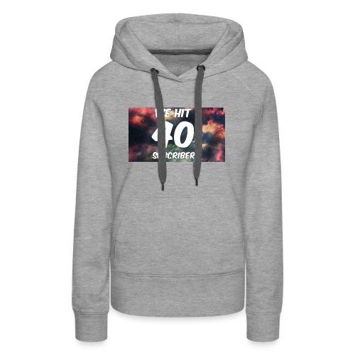Lankydiscmaster's 40 subs shirt and more - Women's Premium Hoodie