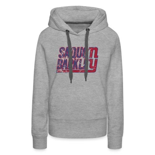 Saquon Barkley Shirt - Women's Premium Hoodie