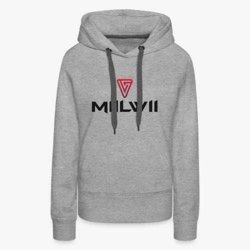 Miilwii logo black - Women's Premium Hoodie
