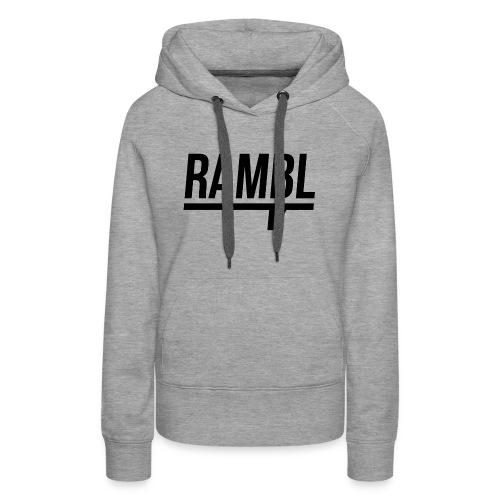 RAMBL - Women's Premium Hoodie