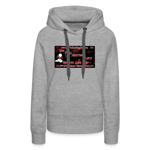 The_Final_Resting_Place_Logo_Address - Women's Premium Hoodie