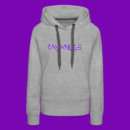 OnyxNess (Purple) - Women's Premium Hoodie