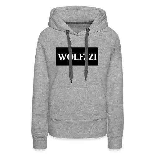 wolfzzishirtlogo - Women's Premium Hoodie