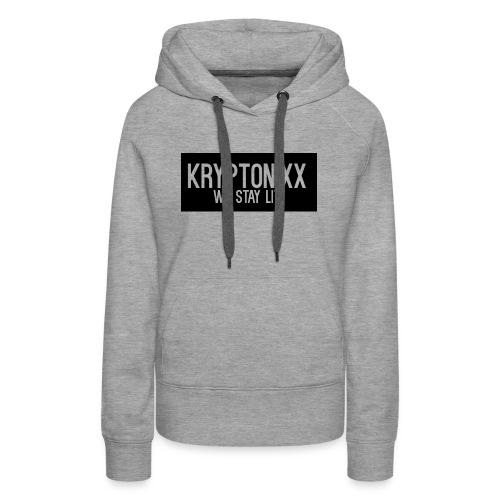 KryptLogoPng - Women's Premium Hoodie