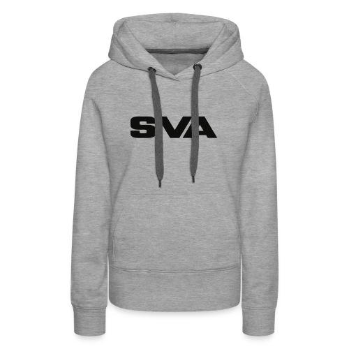 SVAlogoblack - Women's Premium Hoodie