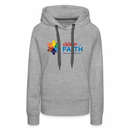 Children of Faith Logo - Women's Premium Hoodie