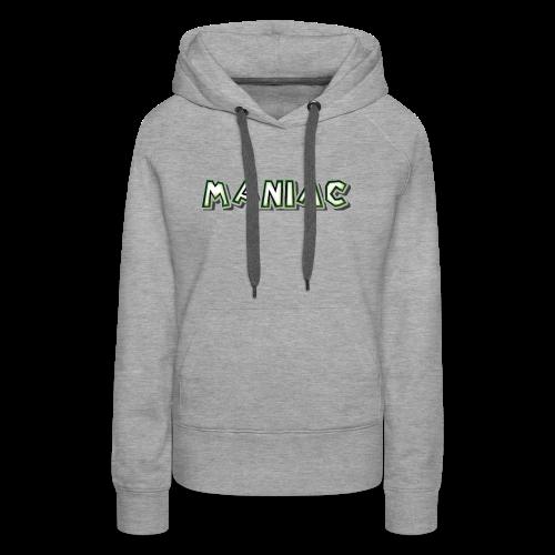Maniac: Green Glow Edition - Women's Premium Hoodie