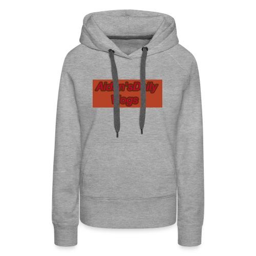 Aidan'sDailyVlogs Tshirts style#2 - Women's Premium Hoodie