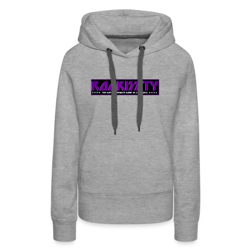 ROCKISSITY the Black Light Logo - Women's Premium Hoodie