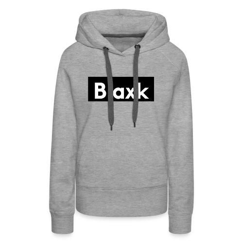 Blaxk Box Logo - Women's Premium Hoodie