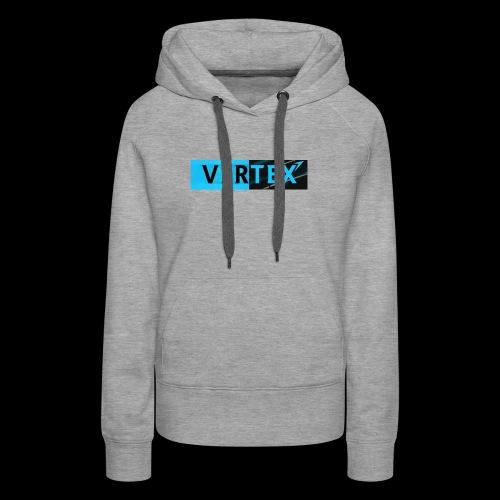 Vertex Window Box Style - Women's Premium Hoodie
