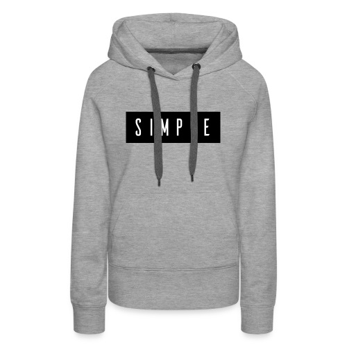 Simple - Women's Premium Hoodie