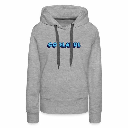 coolavulFunkyBlue - Women's Premium Hoodie