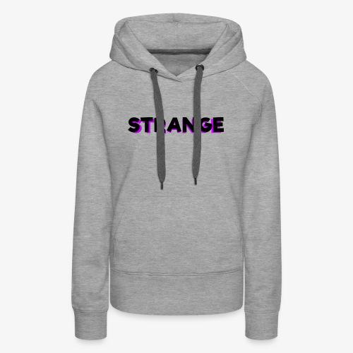 Strange Logo - Women's Premium Hoodie