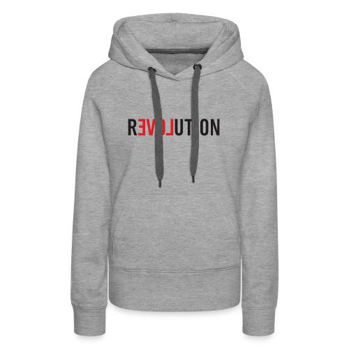 LOVE REVOLUTION - Women's Premium Hoodie