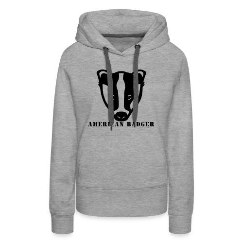 American Badger - Women's Premium Hoodie