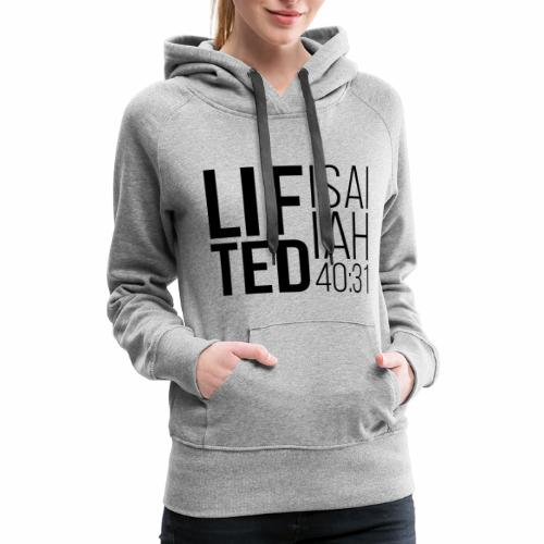 Lifted Black - Women's Premium Hoodie