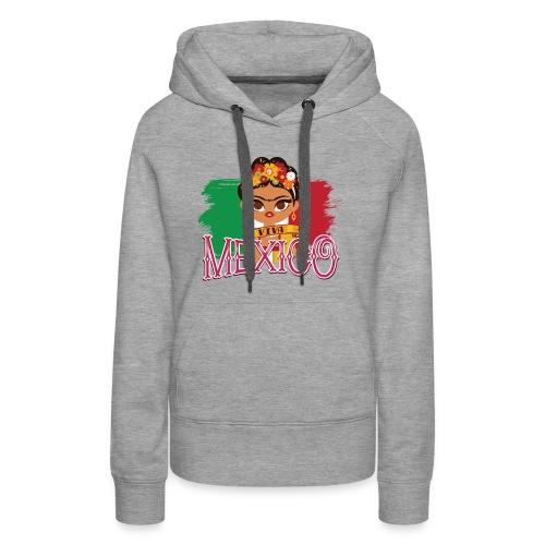 Frida Viva Mexico - Women's Premium Hoodie