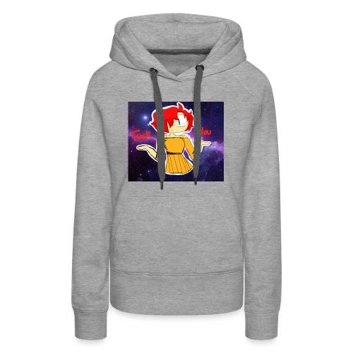 Fuck you galaxy girl - Women's Premium Hoodie