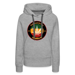 Oakland Grown Cannabis 420 Wear - Women's Premium Hoodie