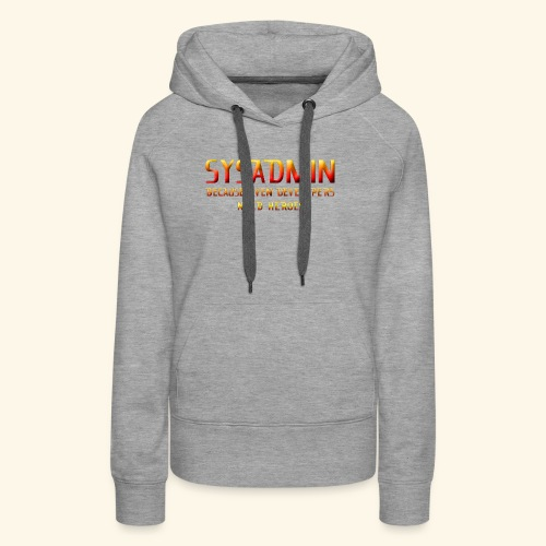 SYSADMIN - Women's Premium Hoodie