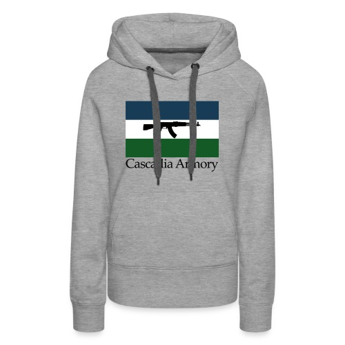 Cascadia Armory Logo - Women's Premium Hoodie