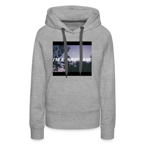 Halsey hurricane products - Women's Premium Hoodie