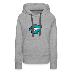 JustAFish Shark Logo - Women's Premium Hoodie