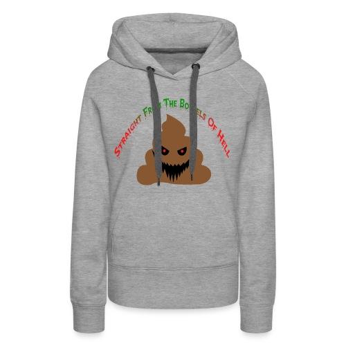 Evil Poo - Women's Premium Hoodie