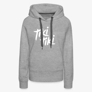Tiki Tiki logo - Women's Premium Hoodie