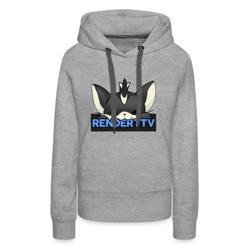 renderttv avatar - Women's Premium Hoodie