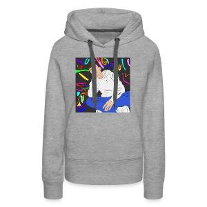 Adam graffiti - Women's Premium Hoodie
